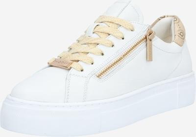 bugatti Sneakers laag 'Infinity' in de kleur Goud / Wit, Productweergave