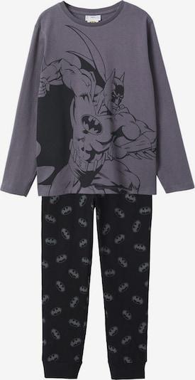 MANGO KIDS Schlafanzug in anthrazit, Produktansicht
