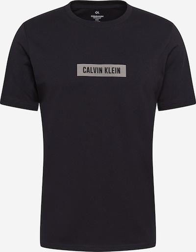 Calvin Klein Performance Camiseta funcional en gris / negro, Vista del producto