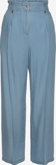 LASCANA Kalhoty se sklady v pase - světlemodrá, Produkt