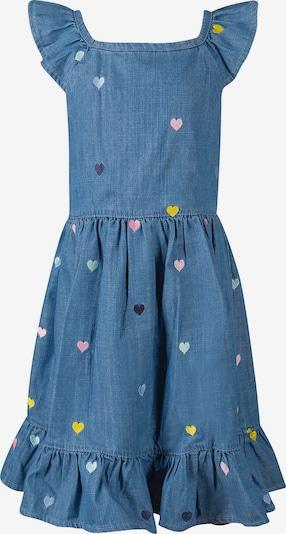 happy girls Kinder Kleid in blau, Produktansicht