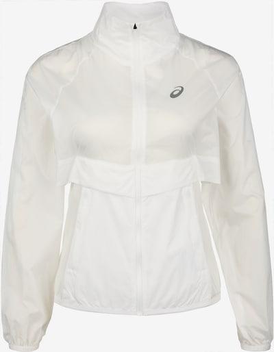 ASICS Trainingsjacke 'Future Tokyo' in grau / weiß, Produktansicht