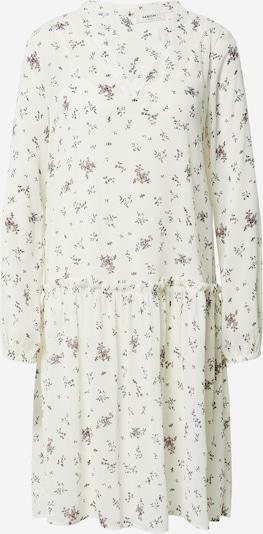 MOSS COPENHAGEN Robe en mélange de couleurs / blanc, Vue avec produit
