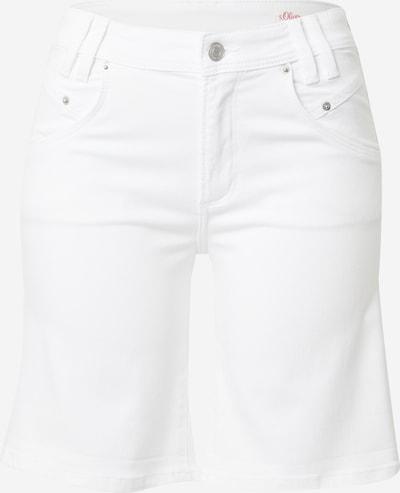 s.Oliver Spodnie 'Betsy' w kolorze biały denimm, Podgląd produktu