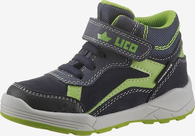 LICO Boots in Navy / Green / Black / White, Item view