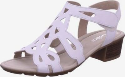 GABOR Sandale in flieder, Produktansicht