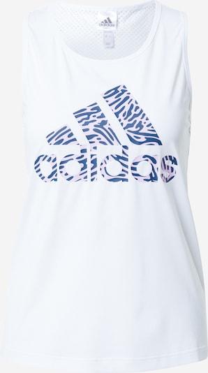 Sportiniai marškinėliai be rankovių 'FORU' iš ADIDAS PERFORMANCE , spalva - mėlyna / šviesiai rožinė / balta, Prekių apžvalga