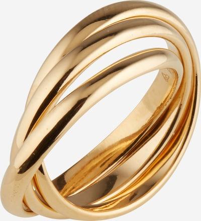 ELLI Ring 'Wickelring' in gold, Produktansicht