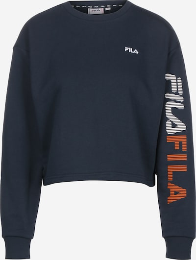 FILA Sweatshirt in dunkelblau / rot / weiß, Produktansicht