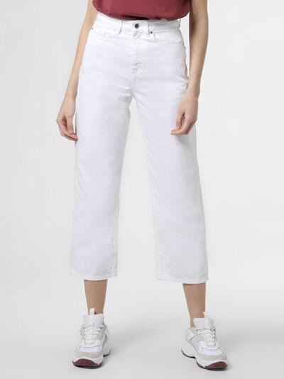 BOSS Culotte-Jeans in weiß, Modelansicht