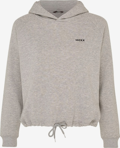 MEXX Sweatshirt in graumeliert / schwarz, Produktansicht