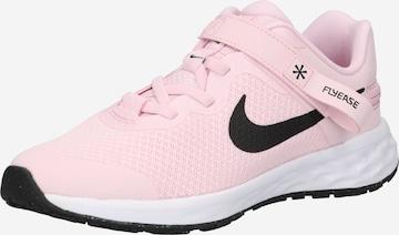 NIKE Spordijalats 'Revolution 6 FlyEase', värv roosa
