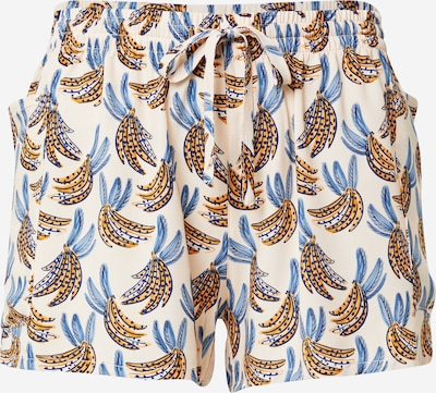 ETAM Pantalón de pijama 'ADELIE' en azul real / dorado / rosa / blanco natural, Vista del producto