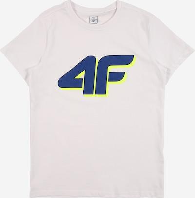 4F Sport-Shirt in navy / gelb / weiß, Produktansicht