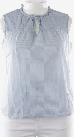 Marc O'Polo Blusentop in XL in hellblau / weiß, Produktansicht
