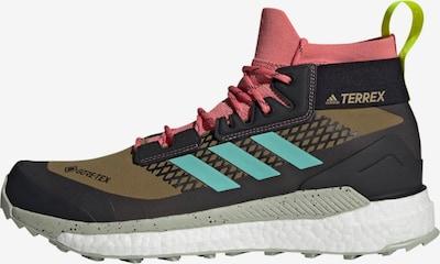 ADIDAS PERFORMANCE Boots in aqua / khaki / lachs / schwarz, Produktansicht