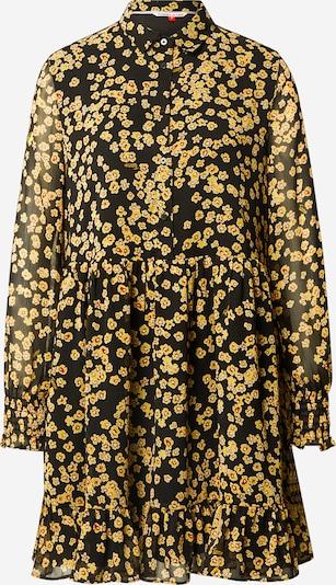 Tommy Jeans Рокля тип риза в жълто / червено / черно / бяло, Преглед на продукта