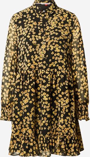 Tommy Jeans Blousejurk in de kleur Geel / Rood / Zwart / Wit, Productweergave