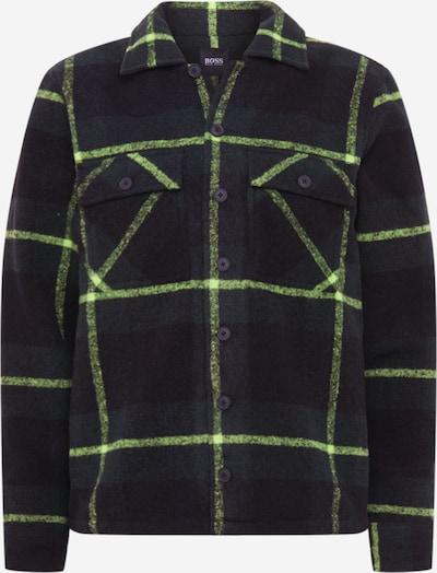 BOSS Jacke 'Lom' in neongelb / schwarz, Produktansicht