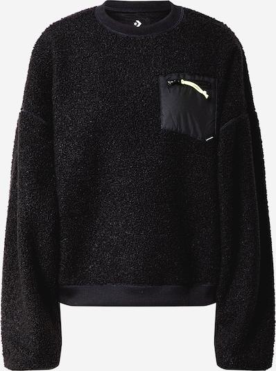 CONVERSE Sweatshirt 'SHERPA' in schwarz, Produktansicht