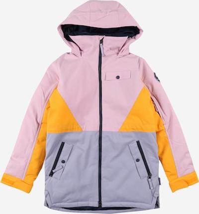 BURTON Jacke 'Khione' in hellblau / gelb / pink, Produktansicht