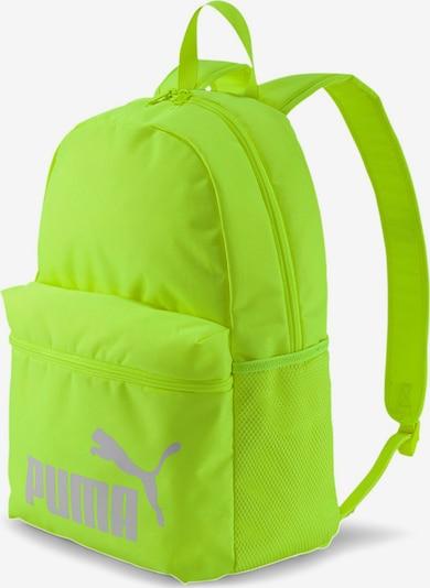 PUMA Rucksack in neongelb, Produktansicht