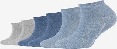camano Kindersocken 'ca-soft' in blau / grau, Produktansicht