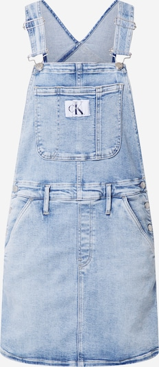 Calvin Klein Jeans Dungaree skirt 'DUNGAREE' in Blue denim, Item view