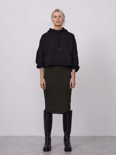 LeGer by Lena Gercke Sweatshirt 'Rebecca' in schwarz: Frontalansicht