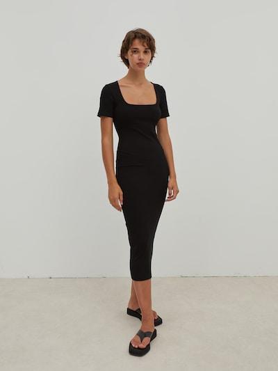 EDITED Kleid 'Ingrid' in schwarz, Modelansicht
