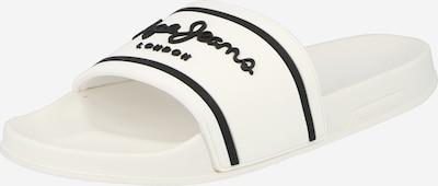 Pepe Jeans Zapatos abiertos en negro / blanco, Vista del producto
