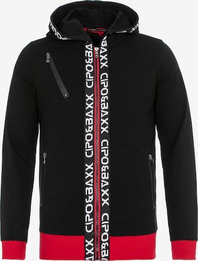 CIPO & BAXX Joggingpak in de kleur Rood / Zwart, Productweergave