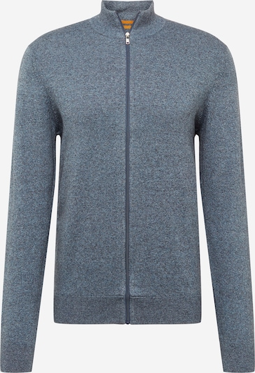 BURTON MENSWEAR LONDON Vestes en maille en bleu chiné, Vue avec produit