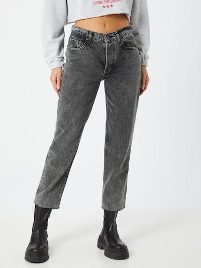 Boyish Jeans i mørkegrå, Modelvisning