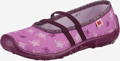ELEFANTEN Pantofle - fialová / bobule / bílá, Produkt