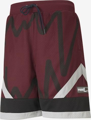 PUMA Shorts in Rot