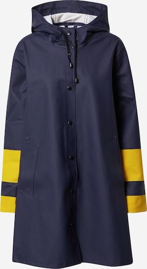 Palton de primăvară-toamnă Stutterheim pe albastru noapte / galben, Vizualizare produs