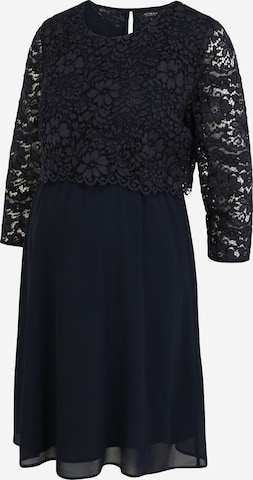 Attesa Cocktail Dress in Blue