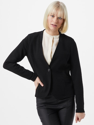 TOM TAILOR Blazer in schwarz, Modelansicht