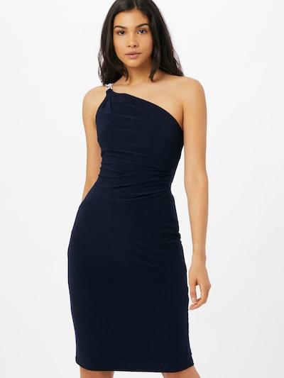 Lauren Ralph Lauren Рокля за коктейл в нейви синьо, Преглед на модела