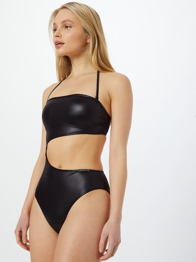 Calvin Klein Swimwear Swimsuit in Black, View model