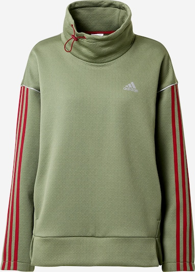 ADIDAS PERFORMANCE Sportief sweatshirt in de kleur Groen / Pink, Productweergave