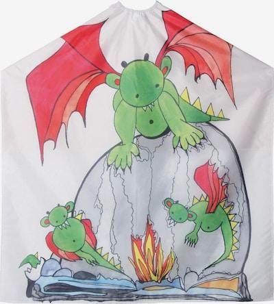 Efalock Professional Friseurumhang 'Fire Dragon' in weiß, Produktansicht
