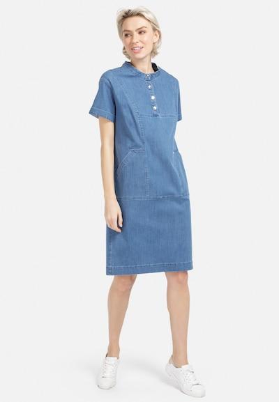 HELMIDGE Jeanskleid in blau / blue denim, Modelansicht