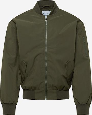 DAN FOX APPAREL Between-season jacket 'Kalle' in Green
