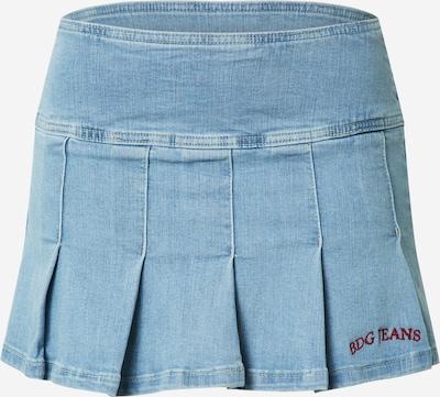 BDG Urban Outfitters Jupe en bleu clair / rouge, Vue avec produit