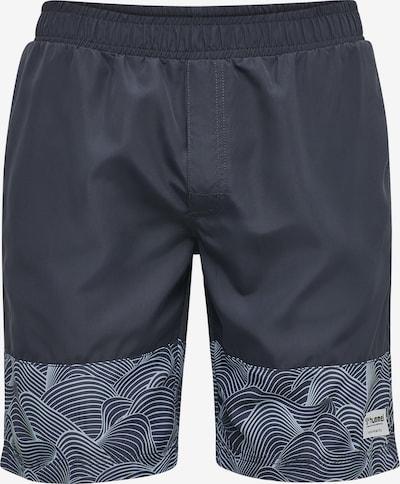 Hummel Boardshorts in rauchblau / dunkelblau, Produktansicht