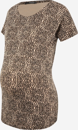 Supermom T-shirt 'Animal' en beige / marron, Vue avec produit