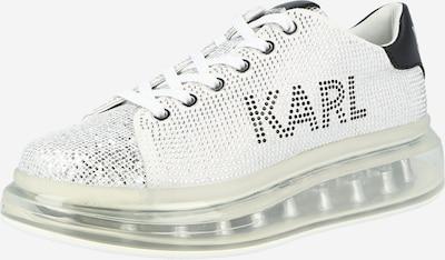 Karl Lagerfeld Sneaker 'KAPRI KUSHION' in schwarz / silber / weiß, Produktansicht