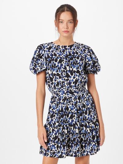 AX Paris Kleid 'DA1017' in blau / schwarz / weiß, Modelansicht